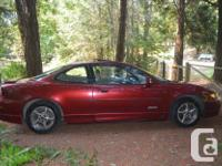 Make Pontiac Year 2000 Colour Red Trans Automatic kms