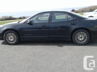 Make Pontiac Year 2000 Colour Black Trans Automatic