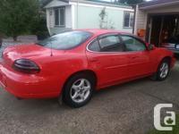 Make Pontiac Model Grand Prix Year 2000 Colour Red kms