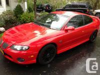 Car is in Buffalo Ny. 2004 Pontiac Gto. 5.7 Liter V8.