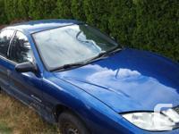 Make Pontiac Model Sunfire Year 2004 Colour Blue kms