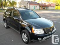 - Pontiac Torrent 2006, aut., 164 000 km, noir, moteur