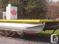 Aluminium system and pontoon of not known Canadian