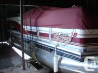 2000 SunTracker 18 foot in excellent condition. 30HP