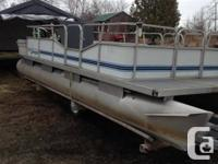 Model	Sprinbok Year	 1994 Colour	Blue Open deck pontoon