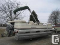 PONTOON BOATS READY FOR SUMMER FUN STARTING @