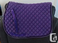 I have one pony size Shedrow purple saddle pad, was