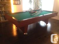 This full size Mizerak Swimming pool table looks like