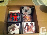 $1 each or all remaining cds for $15. cds come with