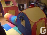 I'm selling my childrens pop up tents. I purchased them