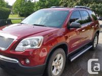 Make GMC Year 2008 Colour Red Trans Automatic kms
