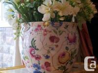Virtually new and absolutely flawless.  PORCELAIN vases