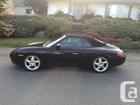 Make Porsche Model 996 Year 1999 Colour Black kms