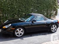 Make Porsche Model Boxster Year 2002 Colour Black kms