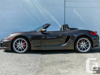 2013 Porsche Boxster S 7-Speed PDK. Color: Anthracite
