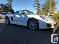Make Porsche Model Boxster Year 2013 Colour White kms