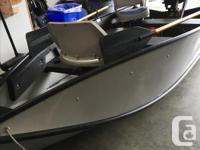 10.5 FT PORTA BOTE with 2.5 MERCURY O.B.. Boat folds
