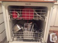 Selling my portable dishwasher because my new place