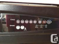 Good quality Kenmore Portable dishwasher. Metal wash