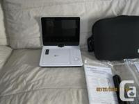 This player includes a carrying case; remote control;