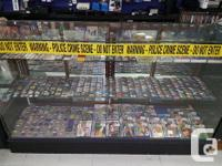 We have hundreds of portable games including titles for
