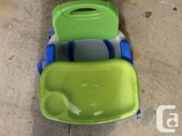 Fisher Price portable high chair  This was awesome -