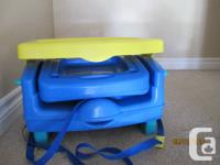 For sale portable high chair that can be affixed to
