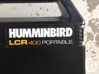 HumminBird LCR 400 Portable fish finder. Older model
