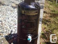 Portable Travelsoft Water Softener. Excellent for the