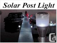 Post LED Light -- White ----FOR 2 LIGHTS----$44.99 CASH