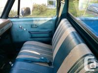 Make GMC Model Sierra 1500 Year 1981 Colour Blue and