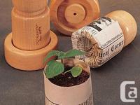 Potmaker by Lee Valley Description: This smart little