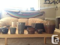 I would like to sell all of these pots asap as I am