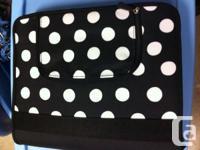 Brand new PB Teen binder. Has a calendar, little purse,