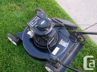 This 4.5 HP Poulan Lawnmower is in great shape and was