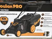 "Poulan Pro Cordless 20"" Lawn Mower (new in box). Bought"
