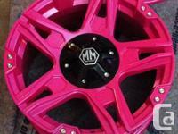 Make your wheels look like brand new! Powdercoating is