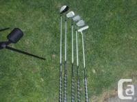Power Bilt Junior Silver Series Golf Club Set, right