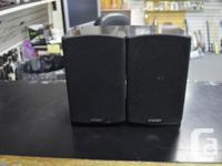 Power Take Traditional Shelf Speakers (TAKE20) - Set.