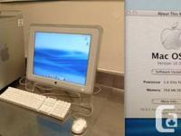 This Apple PowerMac G5 was utilized as a control panel