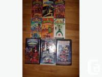 Power Rangers Movies and toys Movies Include: -Food