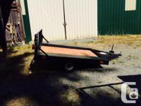 Nice energy trailer light yet sturdy. Excellent tires,