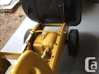 Heavy Duty Power Wheelbarrow. 10Hp, 4-stroke Honda