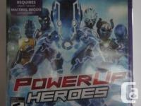 PowerUP Heroes - *SEALED*  Condition: Brand New, never