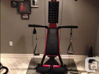 Hardly made use of Bowflex house health club. 210lb of