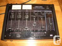 Selling a Reaslitic mixer. Model - 32-1200B. 5 input