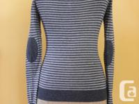 Cute Prana wool blend sweater. Worn a couple of times,