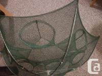 Selling a foldable mesh crab/prawn trap never been
