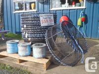 """PRAWN TRAPS - NEW commercial style 32"""" stainless steel"""