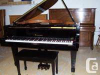 Used, PRE-OWNED BERGMANN TG150 5' BABY GRAND PIANO. MADE IN for sale  Ontario
